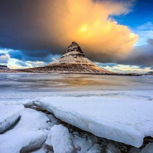 Islande, Mont Kirkfujell