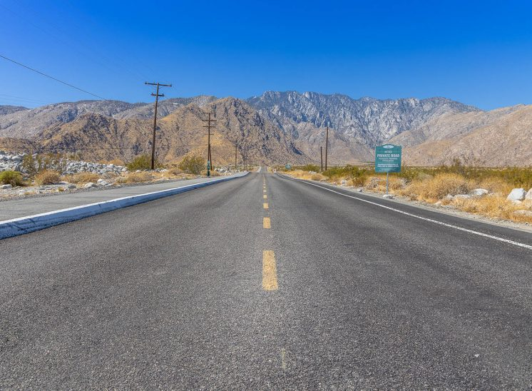 The road, Ouest Américain