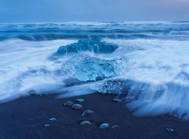 Plage aux Icebergs de Jokulsarlon- Islande