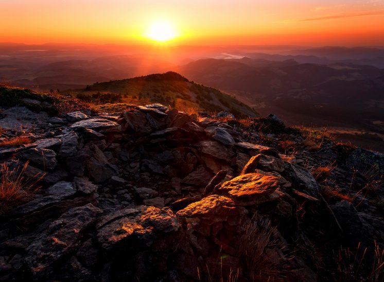 Sunrise depuis le Mont mézenc