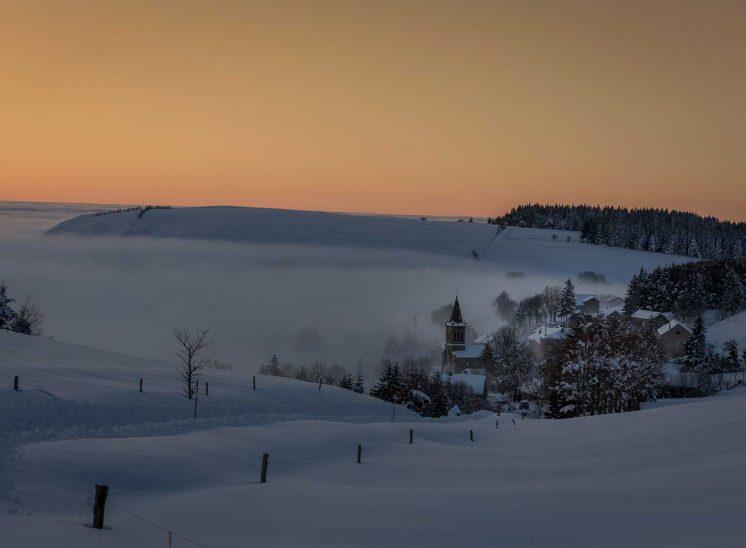 L'hiver au Village de Chaudeyrolles